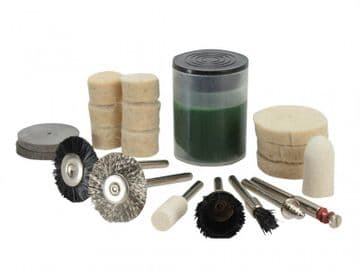 Cleaning & Polishing 20 Piece Kit